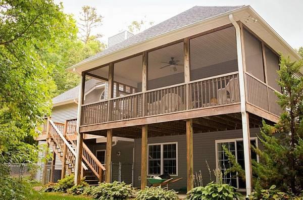 First Floor Backyard Deck Ideas