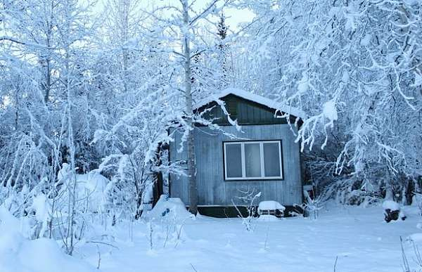 Heating a tiny house in winter