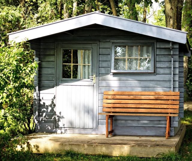 Beautiful Shed Homes Cost #3: Office Shed In Your Garden